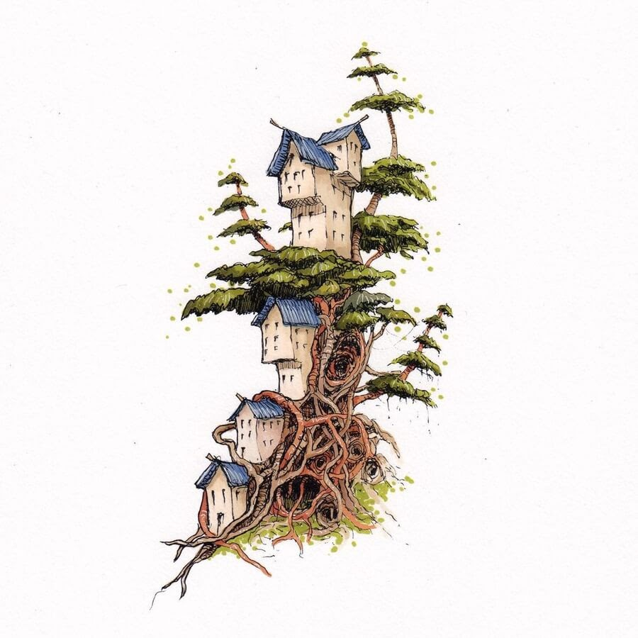 10-The-first-tree-tower-town-Brian-brejanz-www-designstack-co
