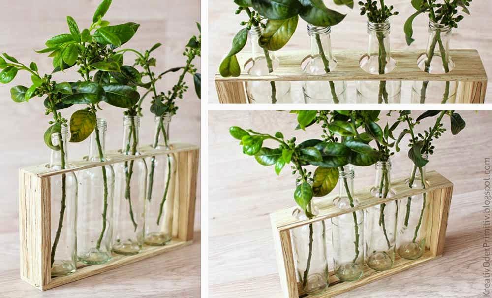 kreativ oder primitiv holz vase mit gewinnerbekanntgabe. Black Bedroom Furniture Sets. Home Design Ideas