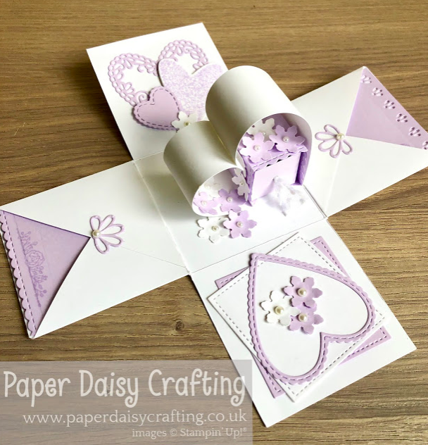 Nigezza Creates With Paper Daisy Crafting and Stampin Up Meant to be
