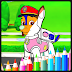 Coloring For Kids - Funny Dogs PAW Patrol