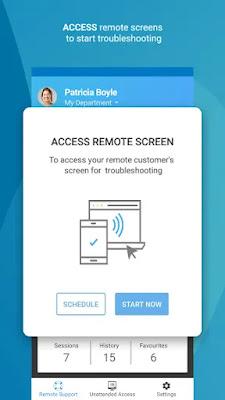 Screenshot Zoho Remote Desktop - Apcoid