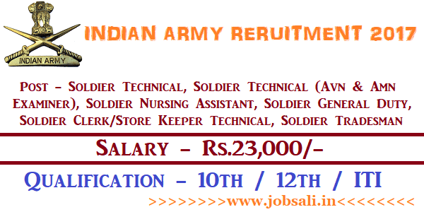 Indian Army Rally, Indian Army Jobs, Join Indian Army