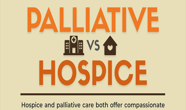 Palliative versus hospice care: basic elements of health care #infographic