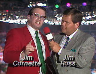 WCW Clash of the Champions X - Jim Cornette and Jim Ross