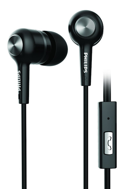Philips headphones | SHE1505BK/94 Upbeat Earphones