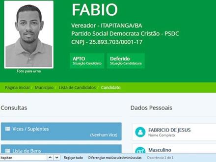 Vereador eleito é preso por tráfico de drogas no Sul da Bahia
