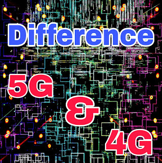 how is 5g technology difference from 4g