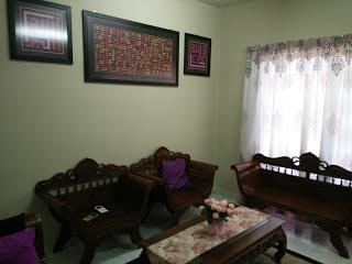 Dekorasi Ruang Tamu Bajet