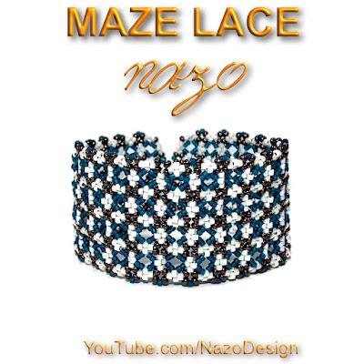 maze lace bracelet