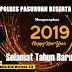 Kapolres Pasuruan AKBP. Rizal Martomo, SIK Mengucapkan Selamat Tahun Baru 2019