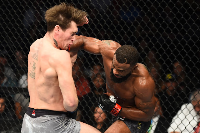 UFC 228 Tyron Woodley Destroys Darren Till