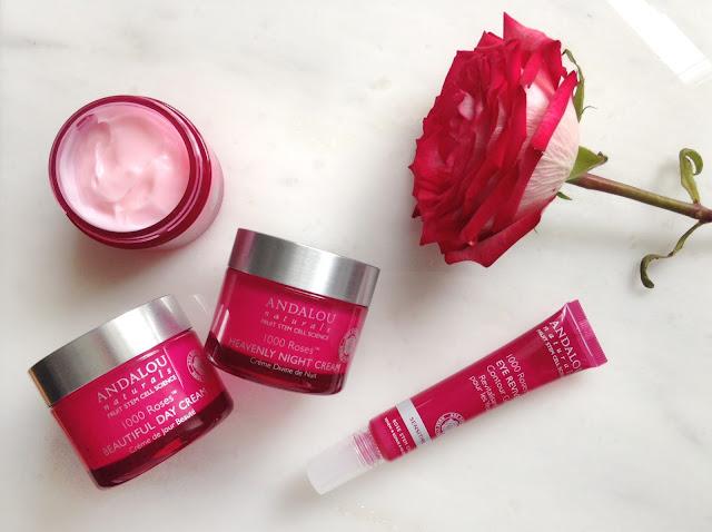 Review bộ sản phẩm Andalou 1000 Roses dòng cho da nhạy cảm dễ kích ứng, andalou, 1000 roses, andalou 1000 roses