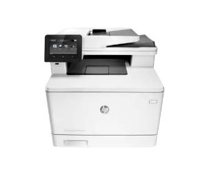 HP Color LaserJet Pro MFP M377 series printer