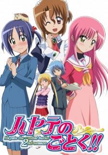 Hayate no Gotoku!! S2 Episode 01-25 [END] MP4 Subtitle Indonesia