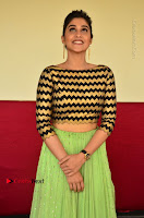 Actress Regina Candra Latest Pos in Green Long Skirt at Nakshatram Movie Teaser Launch  0102.JPG