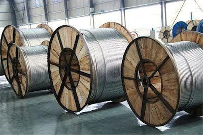 الموصلات - خطوط نقل الكهرباء OHTL