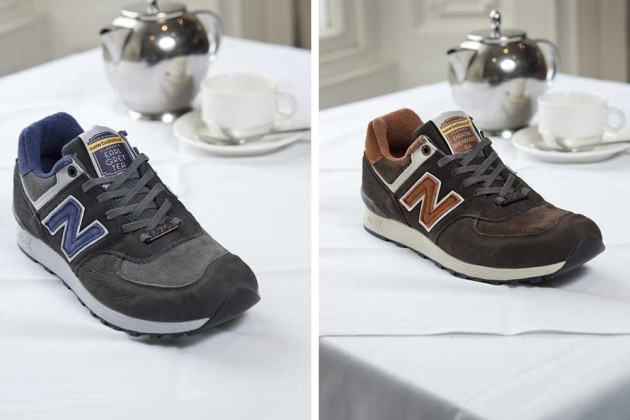 promo code 9495f 6ea5b Six Feet Down: New Balance 576 x Made in England X Tea Pack