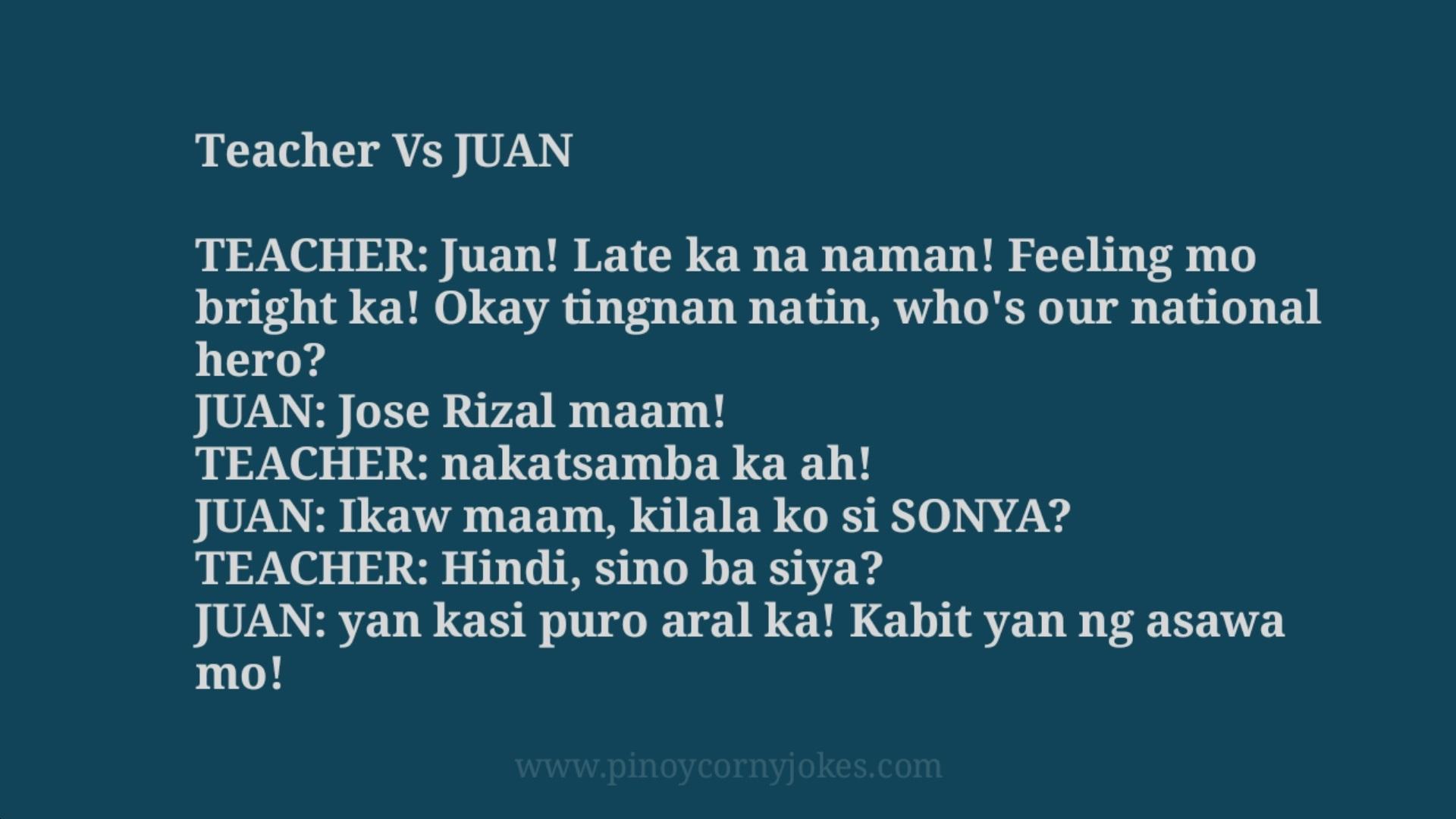 juan late pinoy school jokes 2021