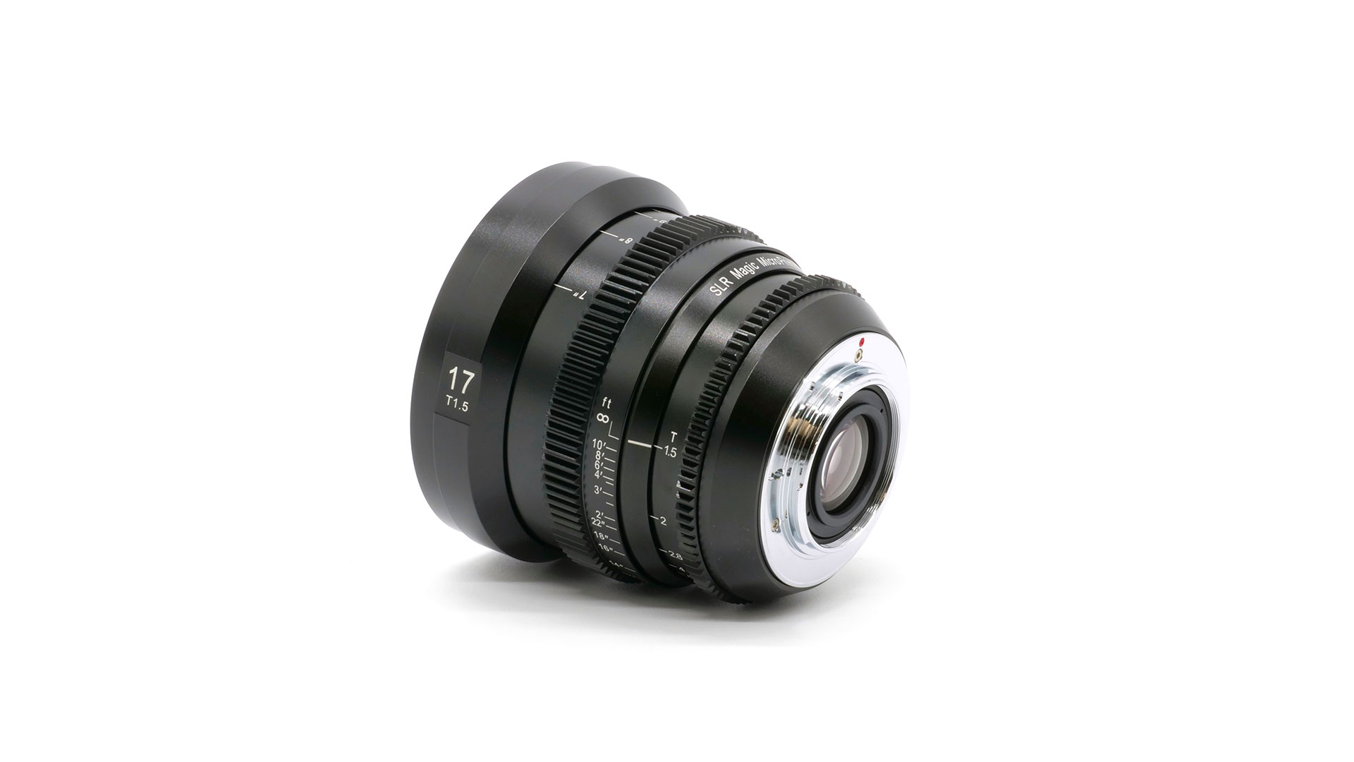 SLR Magic MicroPrime CINE 17mm T1.5 MFT
