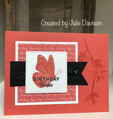 Stampin' Up!, Butterfly Wishes, www.stampingwithsusan.com, Terracotta Tile