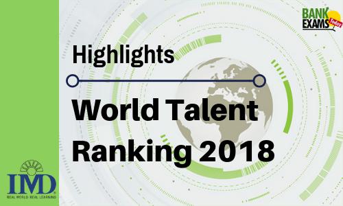 World Talent Ranking 2018