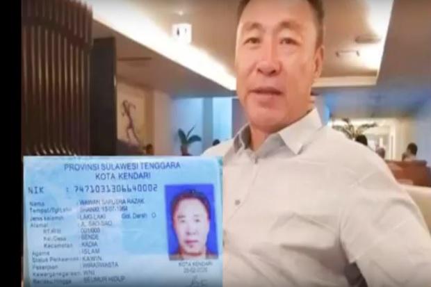 Ujung Nasib WNA China yang Palsukan KTP dengan Nama 'Wawan Saputra'