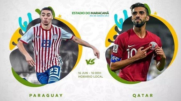 مشاهدة مباراة باراغواي و قطر 16-06-2019 كوبا أمريكا