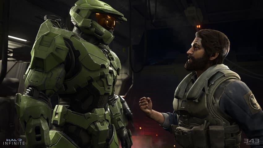Вышел геймплейный трейлер фантастического шутера Halo Infinite с улучшенной графикой