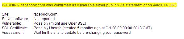 Reporte de vulnerabilidad de facebook.com