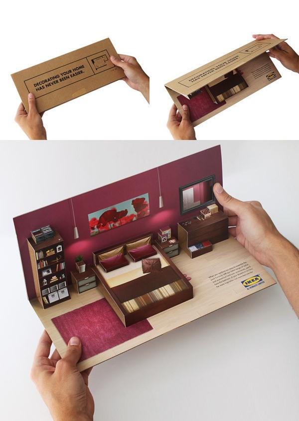 In nhanh Brochure đẹp tại xưởng Hà Nội, thiết kế Brochure độc đáo chuyên nghiệp IKEA