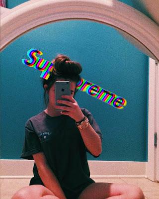 selfies tumblr sola en espejo
