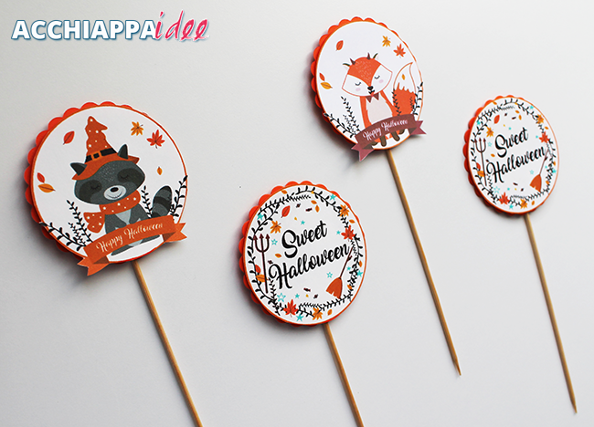 cake toppers per Halloween