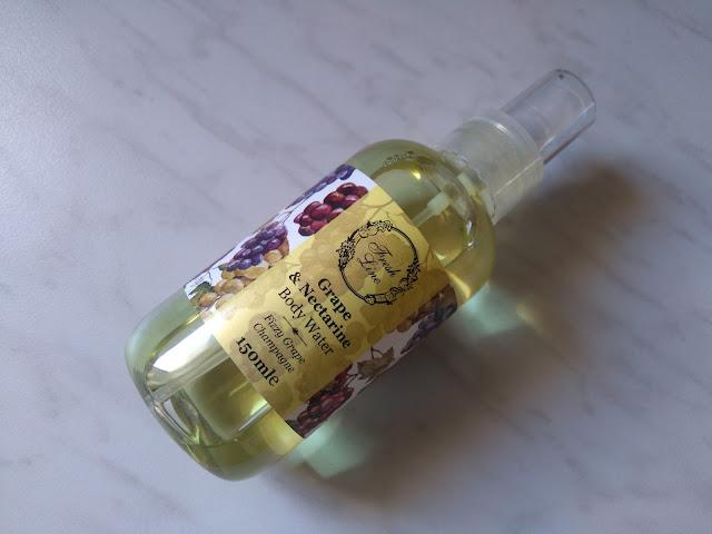Fresh Line Grape & Nectarine Body Water
