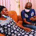 Babajide Olusola Sanwo-Olu, the Governor of lagos state visited  Mrs Ngozi iloamauzor for her lost.