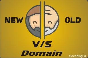 New Domain vs Old Domain which is best ?