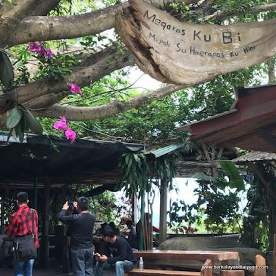 entrance to Dageeli Tribe House Restaurant in Hualien, Taiwan