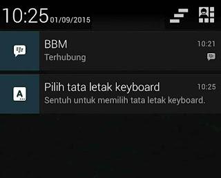 Cara menulis dengan Keyboard PC di Android