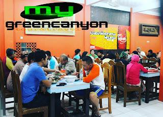 Rumah makan seafood murah di Pangandaran