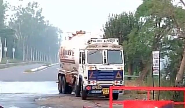 हिमाचल: गैस टैंकर की चपेट में आई स्कूटी, नहीं बच सका 21 वर्षीय युवक