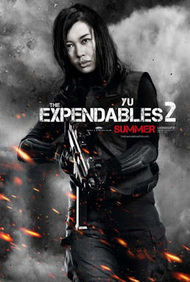 Yu Nan The Expendables 2 2012