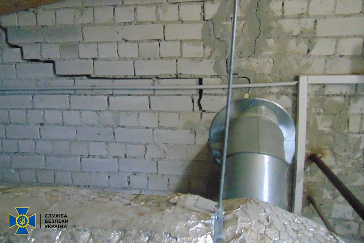 Підземний тренувальний комплекс ССО затоплено через порушення допущені під час будівництва