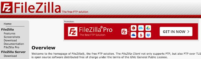 "alt: ""screenshot of FileZilla homepage"""