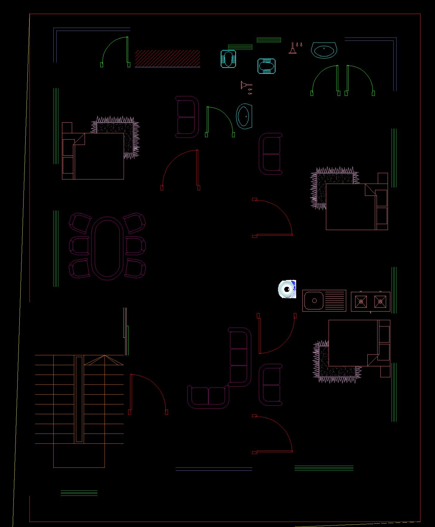 1000 sq ft floor plan