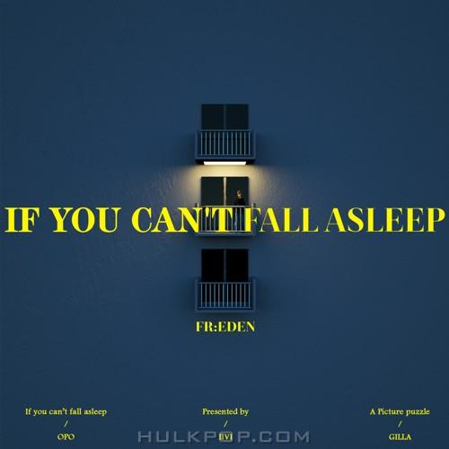 FR:EDEN – If you can't fall asleep – Single