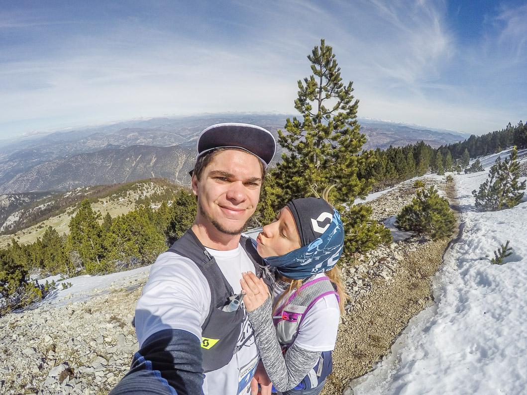 selfie gopro trail