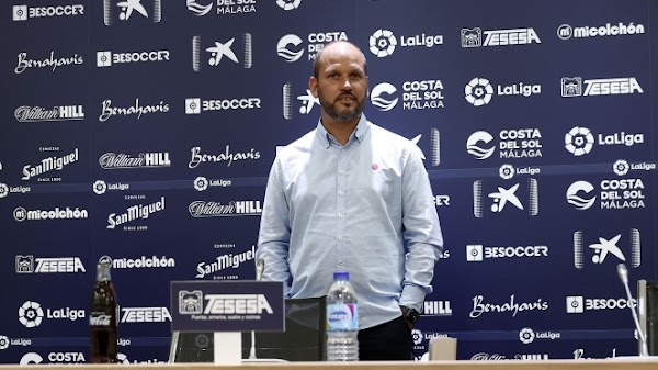 """José Alberto López - Málaga -: """"Tenemos muchas ganas de vivir el ambiente de La Rosaleda"""""""
