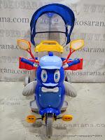 Sepeda Roda Tiga Family F9457T Penguin Seri Bintang - Suspensi