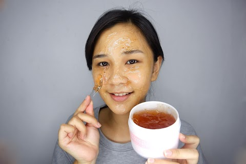 Pampering Time dengan Rose Jelly Mask dari Eileen Grace Indonesia