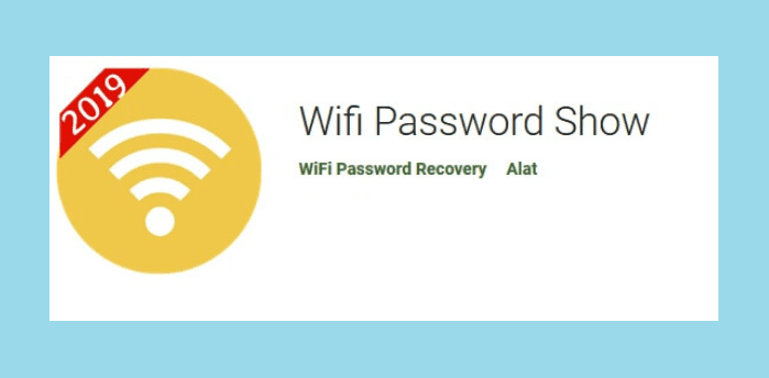 cara tau password wifi