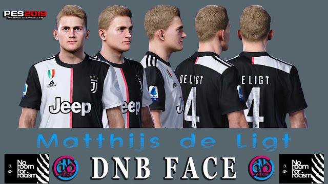 PES 2019 Matthijs de Ligt by DNB Face